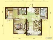乾瑞・嘉山墅2室1厅1卫0平方米户型图