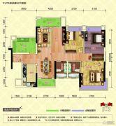 中恒海晖城4室2厅2卫116平方米户型图