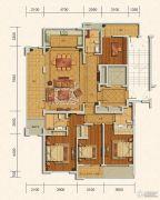 绿城・玫瑰园4室2厅3卫175--196平方米户型图