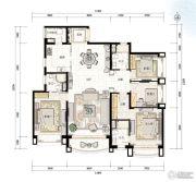 青岛星河湾4室2厅0卫189平方米户型图