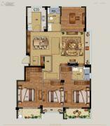 祥生云浦新语4室2厅2卫142平方米户型图