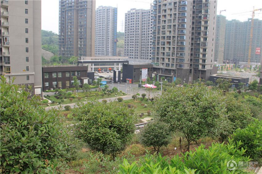 通达南山悦项目实景图(摄于2015.04.09)