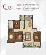 安泰・名筑4室2厅2卫189平方米户型图