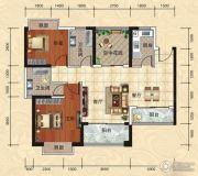 天湖御林湾2室2厅2卫0平方米户型图