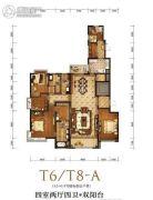 金融街融御4室3厅4卫0平方米户型图