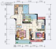 地铁首座2室2厅1卫66--72平方米户型图