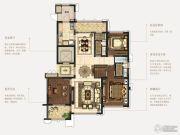 石湖天玺3室2厅2卫155平方米户型图