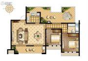 万科维园2室2厅1卫101平方米户型图