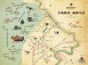 融创紫泉枫丹交通图