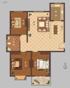 豫大・香港城3室2厅1卫131平方米户型图