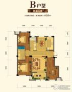 金昌启亚・白鹭金岸3室2厅2卫125平方米户型图