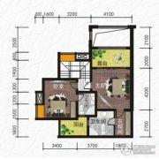 恒河嘉陵江东岸3室2厅3卫150平方米户型图