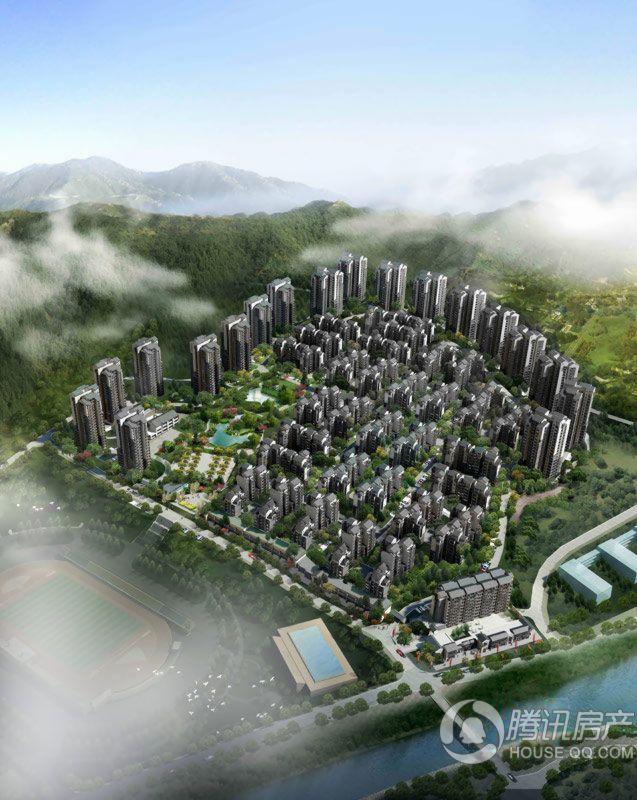 隆鑫花漾城整体效果图