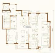 金融街・金色漫香苑5室2厅2卫180平方米户型图