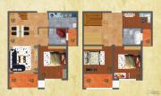 友谊嘉御龙庭4室2厅2卫154平方米户型图