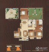 嘉城尚郡4室2厅2卫180平方米户型图