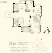 古龙山语听溪3室2厅2卫0平方米户型图