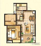 嘉宝梦之缘景庭1室2厅1卫0平方米户型图