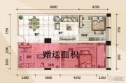 779财富中心2室2厅1卫55平方米户型图