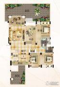 恒信・中央公园4室2厅2卫150--160平方米户型图