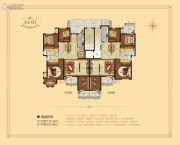 西峡财富新城0室0厅0卫176平方米户型图