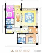 天安国汇3室2厅2卫392--393平方米户型图