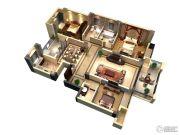 隆豪翡翠星城3室2厅2卫141平方米户型图