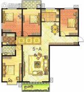 东方明珠4室2厅2卫204平方米户型图