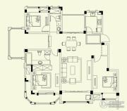 融侨观邸3室2厅2卫143平方米户型图