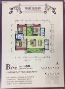 邦盛凤凰城3室2厅2卫135--139平方米户型图