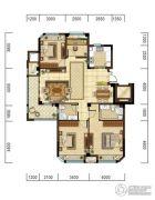 光明・褐石公元4室2厅2卫123平方米户型图