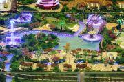 桂林高新万达广场沙盘图