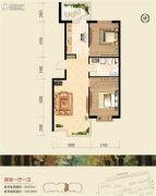 恒祥空间2室1厅1卫0平方米户型图