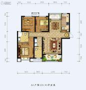 德杰状元府邸3室2厅2卫0平方米户型图