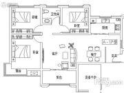 彩虹湾3室3厅1卫0平方米户型图