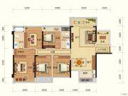 路桥锦绣国际5室2厅2卫130平方米户型图