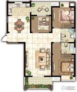 世茂香槟湖3室2厅2卫140平方米户型图