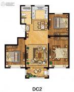美麟・常青藤3室2厅1卫120平方米户型图