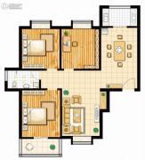 馨逸之福3室2厅1卫113--120平方米户型图