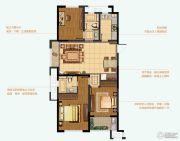 九洲花园缇香郡3室2厅2卫121平方米户型图