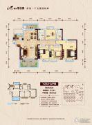 柳州碧桂园4室2厅2卫136平方米户型图