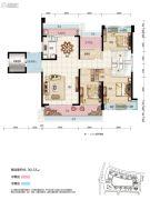 碧桂园・滨江壹号4室2厅2卫141平方米户型图