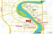 江城花园交通图