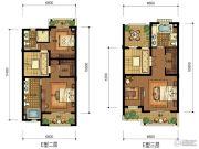 华升南山郡3室2厅4卫300平方米户型图