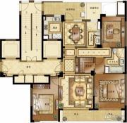 融创常州御园3室2厅2卫150平方米户型图