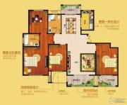 花为媒御品世家4室2厅2卫0平方米户型图