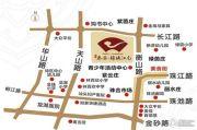泰安・锦绣江南花园交通图
