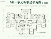 恒大翡翠华庭81--125平方米户型图