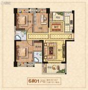 龙泉绿苑3室2厅2卫0平方米户型图