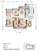 碧桂园・滨江壹号4室2厅2卫172平方米户型图